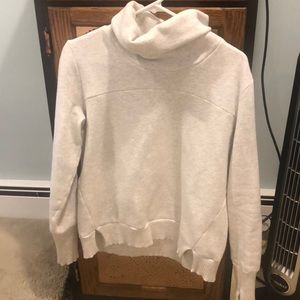 Alo yoga haze funnel neck sweatshirt